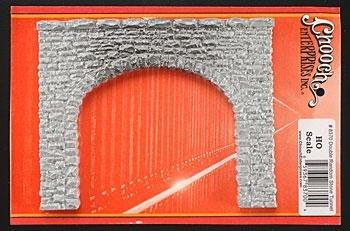 - Chooch Enterprises HO Scale Double Random Stone Tunnel Portal