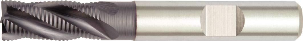 4-Flute Weldon Shank 0.35 mm Chamfer WIDIA Hanita 6N0616006LW 6N06 HP Roughing End Mill TiAlN Coating HSS-PM 16 mm Cutting Dia RH Cut