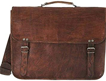 Image Unavailable. Image not available for. Colour  CraftShades Leather  Side Bag for Men ... c31c58d5d23
