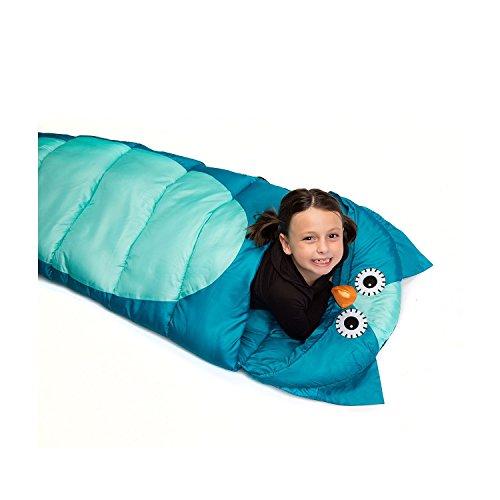 Outdoor Sleeping Bag Kid's Animal, - Animal Sleeping Bag Bed