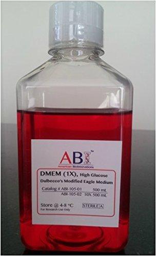 DMEM High Glucose, Pyruvate, 500 mL