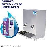 Bebedouro Industrial Bancada 20 Litros Aço Inox Com Garantia