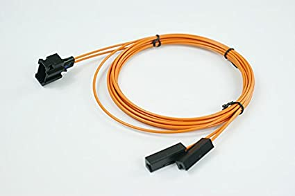Amazon com: MOST Fiber Optic Cable Female & Extension