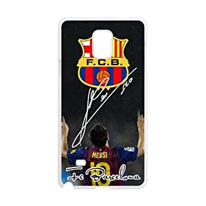 F.C.B Messi Cell Phone Case for Samsung Galaxy Note4 Kimberly Kurzendoerfer