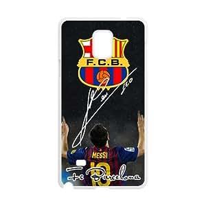 F.C.B Messi Cell Phone Case for Samsung Galaxy Note4 WANGJING JINDA