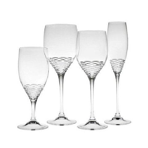 Jasper Conran Crystal Rosette Flute Champagnes ()