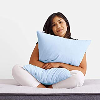 Helix Sleep Ultra-Cool Pillow for Sleeping - Cooling Pillow - Temperature Regulating - Cool to Touch - Phase Change Material - 100% Cotton & Down Alternative Pillow - Hypoallergenic Pillow (King)