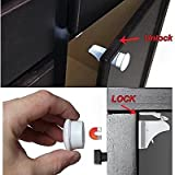 Baby Safety Magnetic Locks for Cabinets - No Tools Or Screws Needed - 15 Pieces (12 Locks + 3 Key)