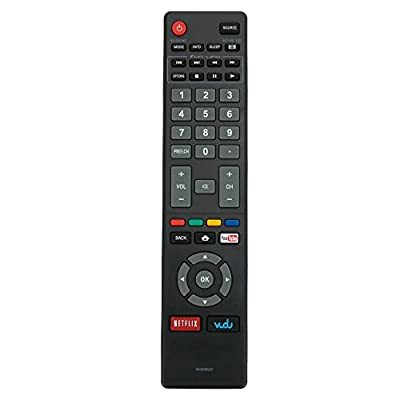 New NH409UD Remote Control fit for Magnavox LED Smart HDTV TV 32MV304X 32MV304XF7 40MV324X 40MV336X 50MV314X 55MV314X 43MV314X 43MV314XF7
