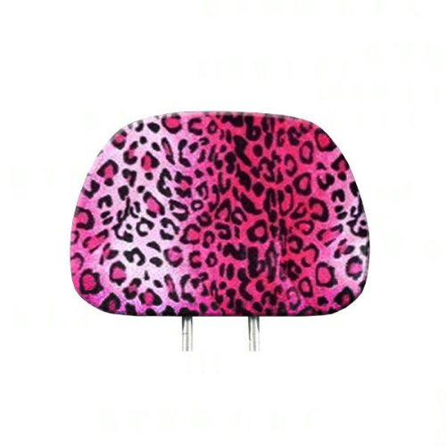 headrest covers leopard - 5