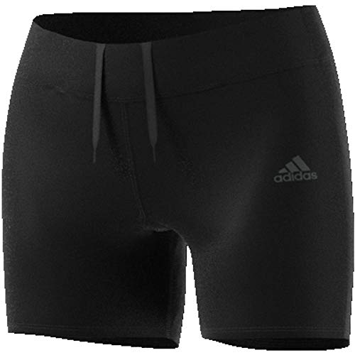 adidas Women Running Response Short Tights Pants Yoga Fitness Workout CF6234 (L) Black