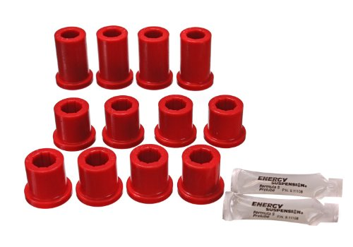 Energy Suspension 8.2102R Front Spring and Shackle Bushing by Energy Suspension