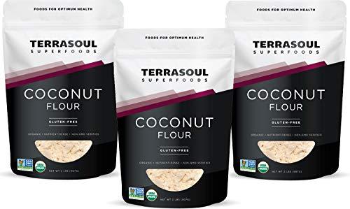 Terrasoul Superfoods Organic Coconut Flour, 6 Lbs - Gluten-Free