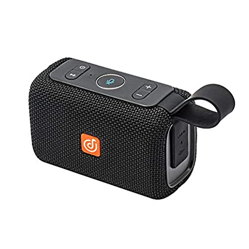 DOSS E-go Alexa-Enabled Portable Bluetooth Speaker with Superior Sound, 33ft Bluetooth Range, Built-in Mic, Ultra-Portable Design, IPX6 Waterproof for Home and Outdoor - 41VtN 2BqwF 2BL - DOSS E-go Alexa-Enabled Portable Bluetooth Speaker with Superior Sound, 33ft Bluetooth Range, Built-in Mic, Ultra-Portable Design, IPX6 Waterproof for Home and Outdoor