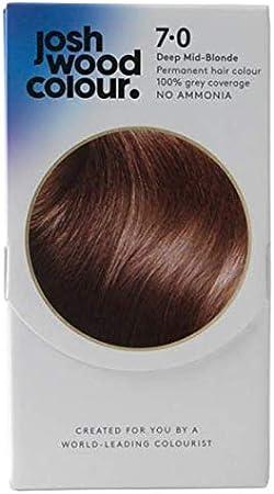 Josh Wood - Tinte permanente para el pelo de color 7,0 rubio