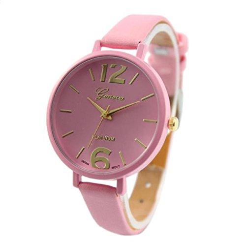 5 pack Wholesale Women Leather Watches,SINMA Casual Elegangt Wristwatch Analog Quartz Wrist Watch