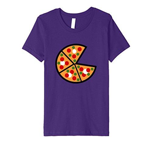 Kids Emoji Tshirt National Pizza Day November 12 10 Purple