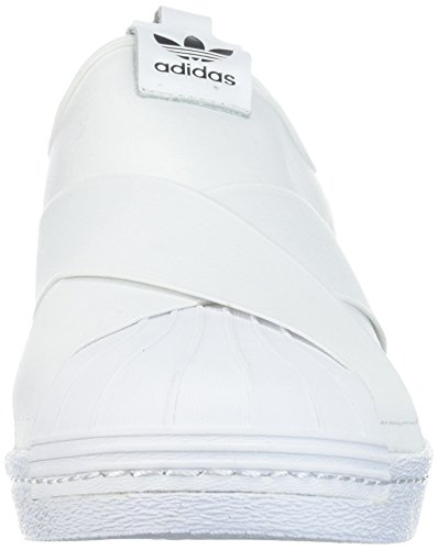 Adidas Originelen Dames Superstar Slipon W Sneaker Wit / Wit / Zwart