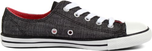 Converse Dainty da bianco Ox Nero Sneakers As Donna OOxPwfZ
