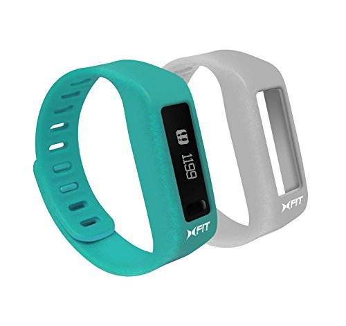 XTREME Xfit Watch Turquoise/White Bluetooth Activity Trac...