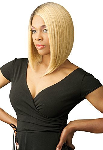 New Born Free Magic Lace Curved Part Synthetic Wig - Magic Lace 156-DYX4/613 (Magic Wig)