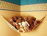 : Teddy Hammock Toy Storage Net - Pastel by Toy Tech by DistiKem
