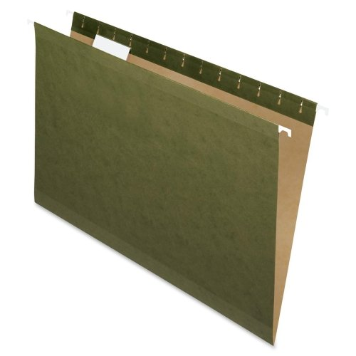 Wholesale CASE of 10 - Esselte 1/5 Cut Std Hanging Folders w/ Pockets-Hanging Folder, Legal, 1/5 Tab Cut, 25/BX, (Cut Std Hanging)