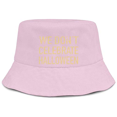 WJINX We Don't Celebrate Halloween Unisex Bucket Hat