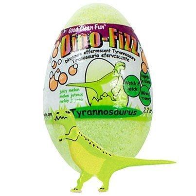 Price comparison product image Dino Fizz Hatching Tyrannosaurus Egg Bath Fizzy - 2.2 oz.