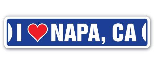 - I Love NAPA, California Street Sign ca City State us Wall Road décor Gift