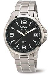 3591-02 Boccia Titanium Mens Watch