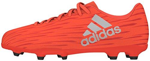 adidas X 16.3 Fg J, Botas de Fútbol para Niños Rojo (Rojsol / Plamet / Roalre)