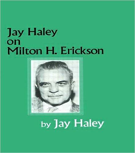 Jay haley on milton h erickson 9780876307281 medicine health jay haley on milton h erickson 9780876307281 medicine health science books amazon fandeluxe Choice Image