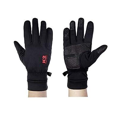 KORAMAN Men Women Winter Windproof Warm Fleece Running Cycling Hiking Snow Touchscreen Gloves