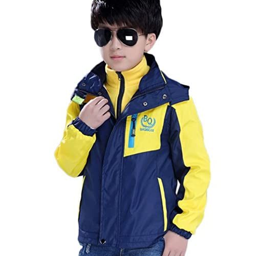 discount Sworld Boys Waterproof Breathable Coat Lightweight Front-Zip Sportswear Jacket on sale