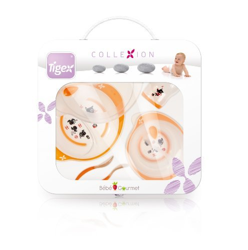 Tigex Collexion 730152 Baby Dinner Set in Case by Tigex Collexion