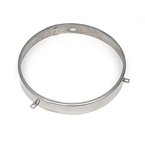 Eckler's Premier Quality Products 61156159 Chevy Truck Headlight Retainer Ring Sealed Beam StainlessSteel 7