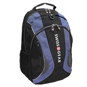 Swiss Gear Computer Backpack Laptop padded with stablizing base technology Blue
