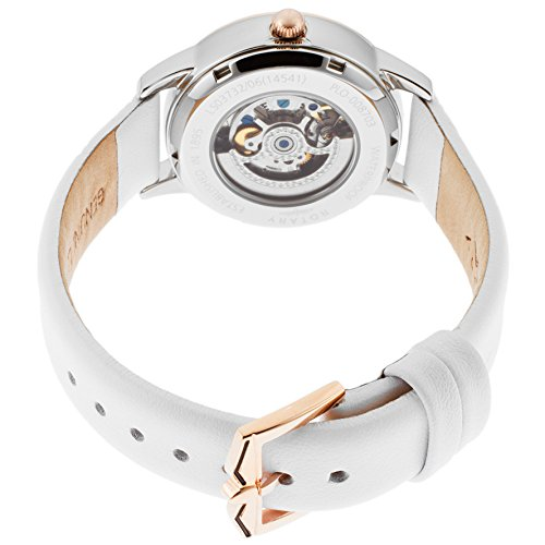 Rotary Women's LS03732-06 White Genuine Leather Watch