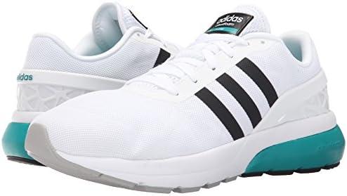 adidas Neo Men's Cloudfoam Flow Shoe, White/Clear/Blue, 12 M US ...