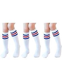 Knee High Tube Socks for Boys, Girls, Baby, Toddler &...