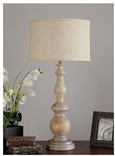 Latte Grand 38'' Oversized White Table Lamp