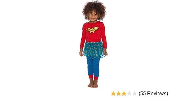 DC Comics Baby Girls Wonder Woman Tutu Sleep Set