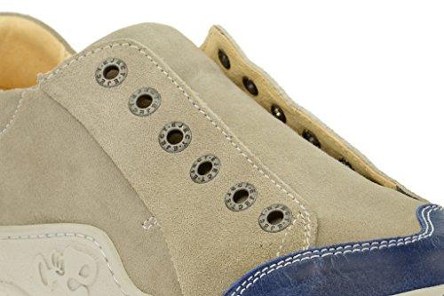 EjectEject Skat Slipper in beige blau - Herrenschuhe F/S 2014 - Sneaker Uomo Beige (beige)