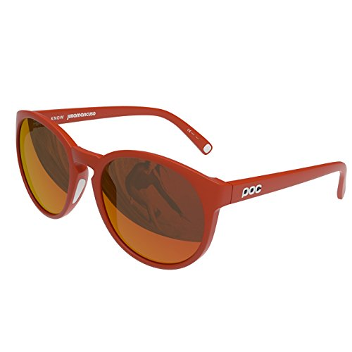POC Know Julia Mancuso Ed. Lunettes de soleil Julia Red