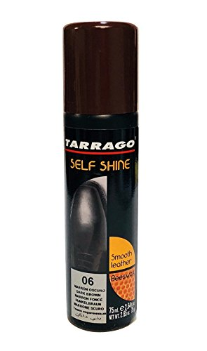 Dark Colour - Tarrago Self Shine Liquid Shoe Polish (2.5 Fl. Oz. 75 Ml)(Color Selection) (Dark Brown)