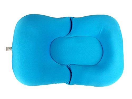 Soft Baby Bath Pillow Pad Infant Lounger Air Cushion Floating Bather Bathtub Pad (Blue) by DEBRIS TIME