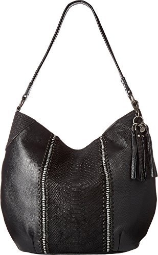 The Sak Women's Indio Hobo Black Python One Size - Python Hobo Handbag
