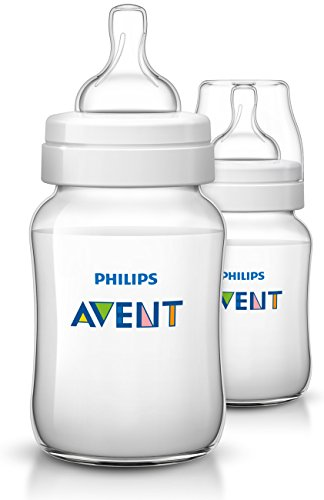 Philips Avent Classic Plus Baby Bottles, 9 Ounce (2 Pack)