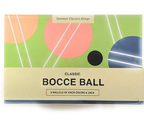 (Becken Bargains Bocce Ball Classic Set Designed by LUCKIES of London )
